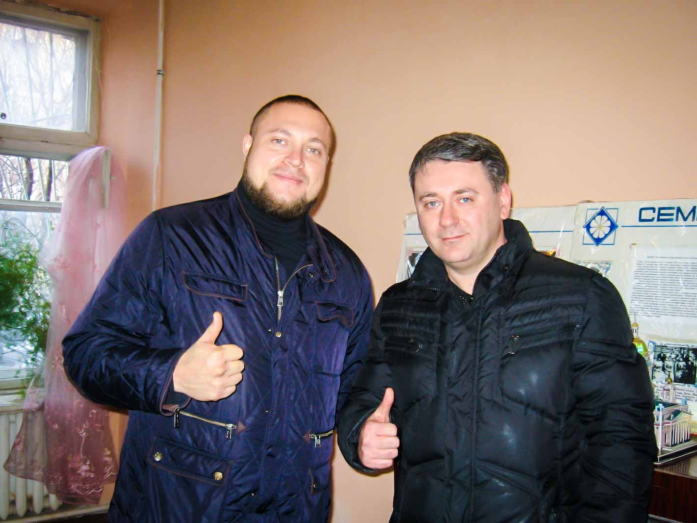 Сажко Андрей и Черненко Тарас - активисты проекта