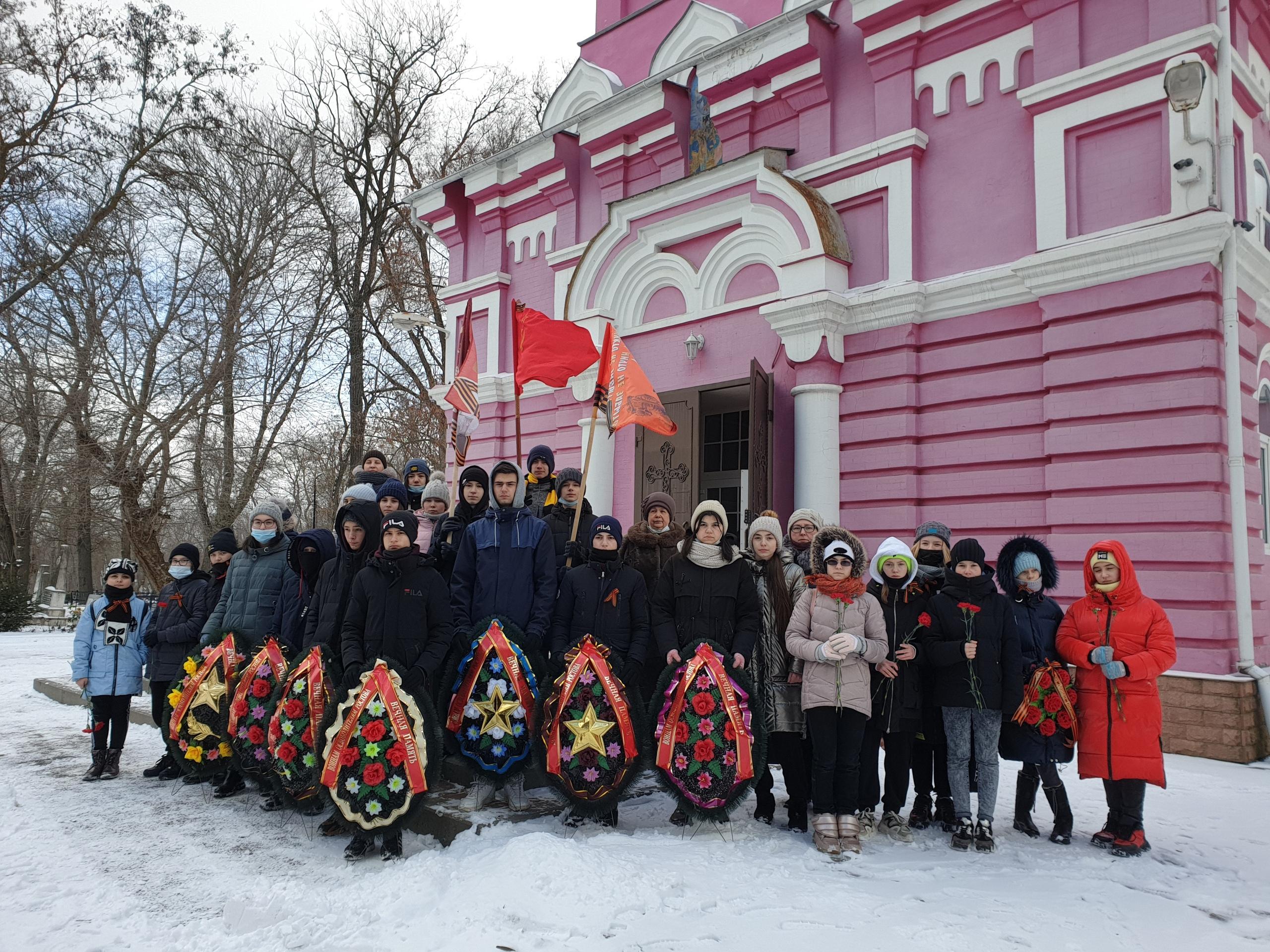 Памятная дата освобождения Ростова-на-Дону